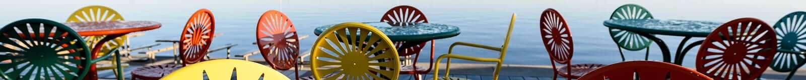 UW–Madison Memorial Union's famous starburst chairs