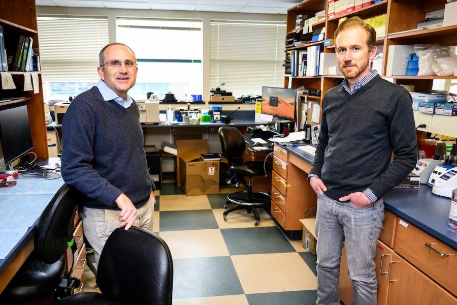 David O'Connor (left) and Thomas Friedrich
